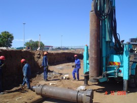 Pile Drilling